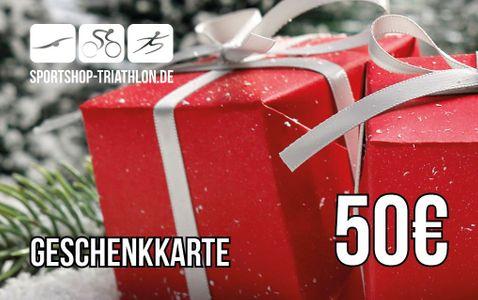 50 Euro Gutschein - Versand als Geschenkkarte