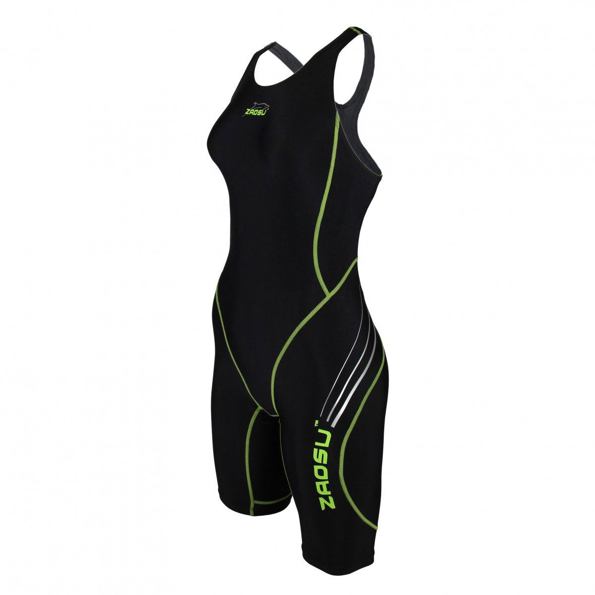 ZAOSU Wettkampf-Schwimmanzug Z-Black Badeanzug Damen Training