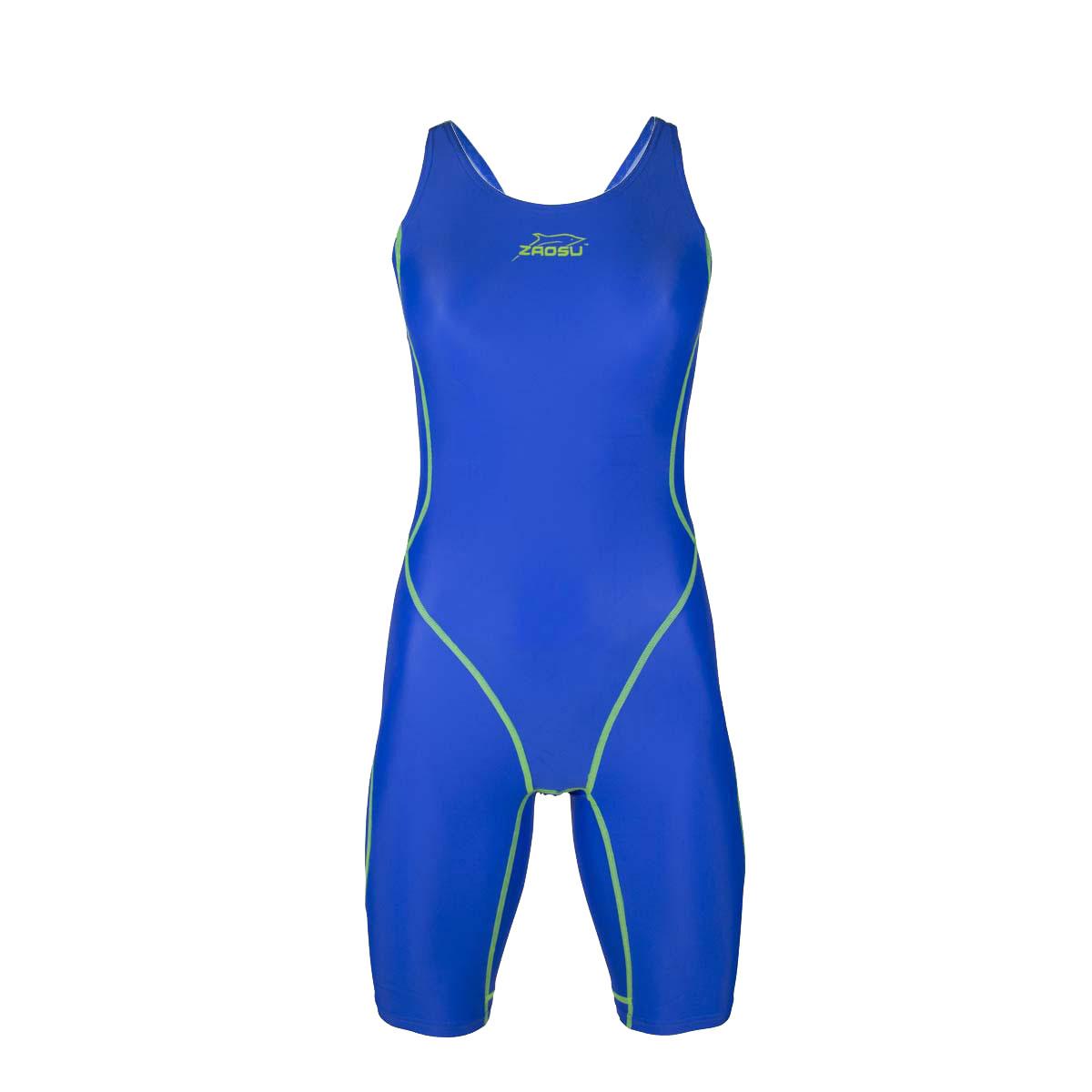 8abc60cad400dd ZAOSU Wettkampf-Schwimmanzug Z-Blue – Bild 2