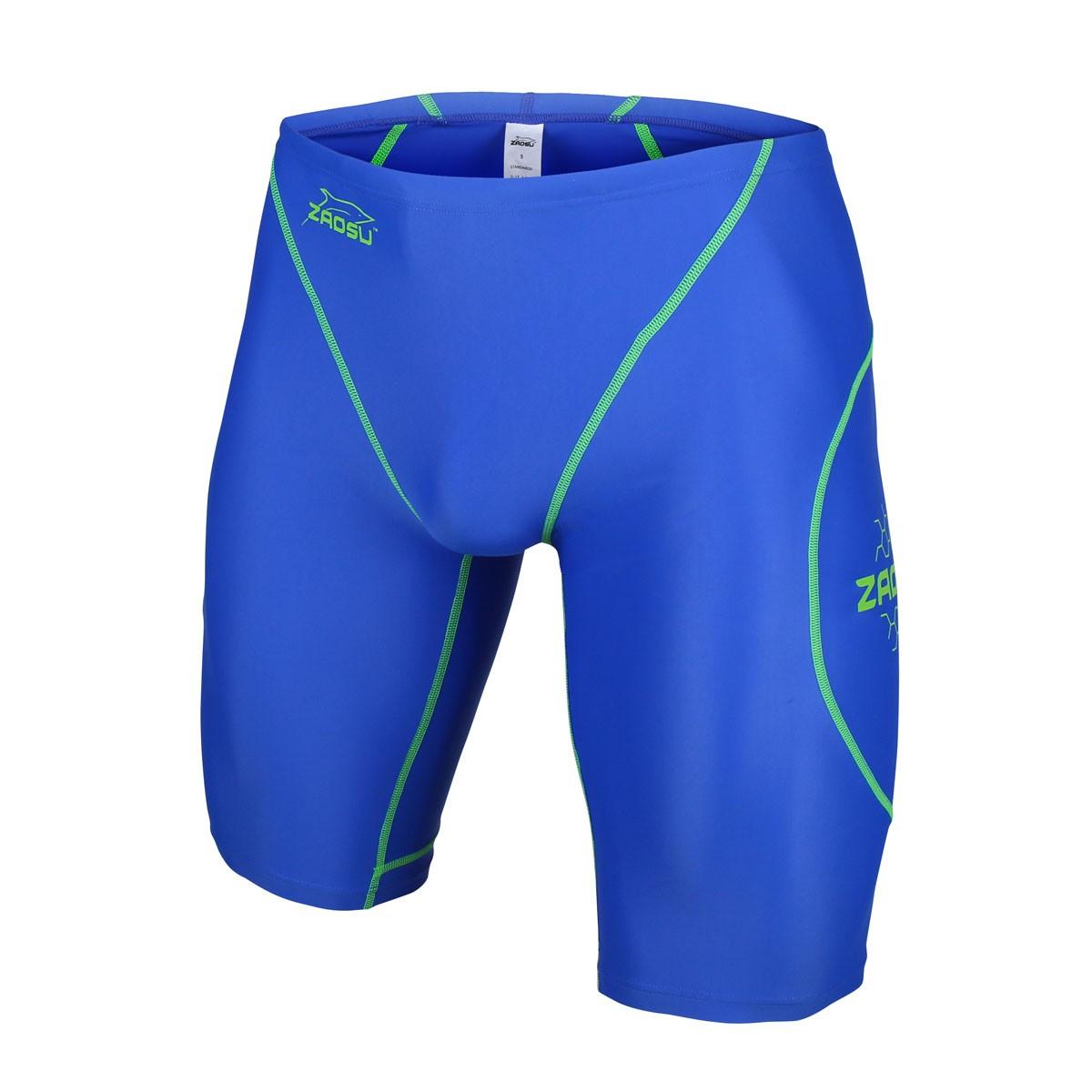 306f0084754372 ZAOSU Wettkampf-Schwimmhose Z-Blue 001