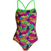 Funkita Paradise Wings Cross Back - Schwimmanzug Damen