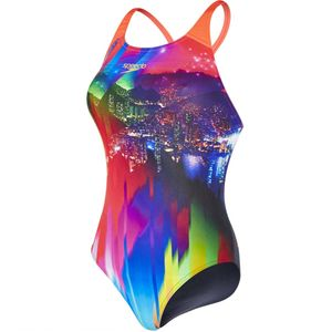 Speedo Sunset Samba Digital Rippleback - Badeanzug Damen