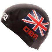 Arena 3D Silikon Badekappe Nationalfahne Vereinigtes Königreich - Limitierte Edition England 001