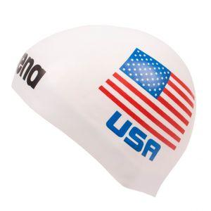 Arena 3D Silikon Badekappe Nationalfahne Vereinigte Staaten - Limitierte Edition USA
