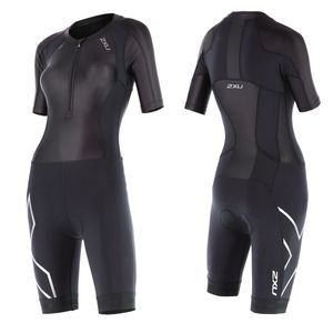 2XU Women´s Crompession Sleeved Trisuit - Triathlon Einteiler Damen