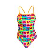 Funkita Badeanzug Damen Hot Lips  001