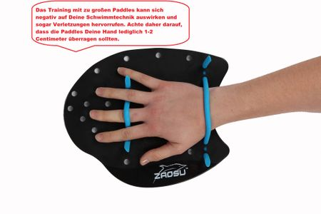 ZAOSU Training Handpaddles – Bild 5