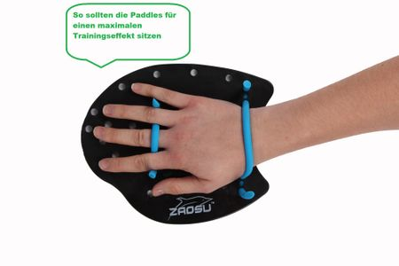 ZAOSU Training Handpaddles – Bild 6