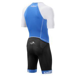 Sailfish Aerosuit Comp (blau) - Triathlonanzug Herren – Bild 2