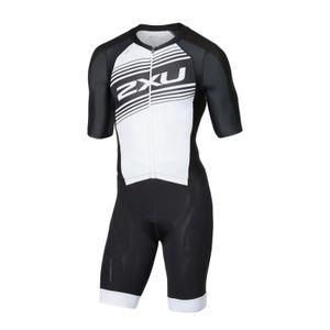 2XU Men´s Crompession Full Zip Sleeved Trisuit - Triathlon Einteiler Herren – Bild 1