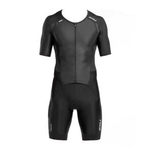 2XU Men´s Perform Full Zip Sleeved Trisuit - Triathlon Einteiler Herren