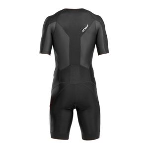 2XU Men´s Perform Full Zip Sleeved Trisuit - Triathlon Einteiler Herren – Bild 2
