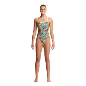 Funkita Badeanzug Damen Panel Pop – Bild 2