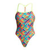 Funkita Badeanzug Damen Panel Pop 001