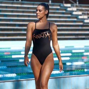 Funkita Badeanzug Damen Bronzed – Bild 4
