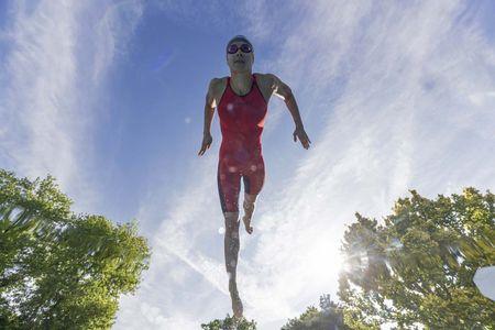 ZAOSU Z-ELITE Wettkampf Schwimmanzug | Open Back für Damen & Mädchen – Bild 7